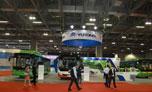 Автобус YUTONG на новой энергии освещает 4-ную Аомыньскую международную выставку машин в 2014г.